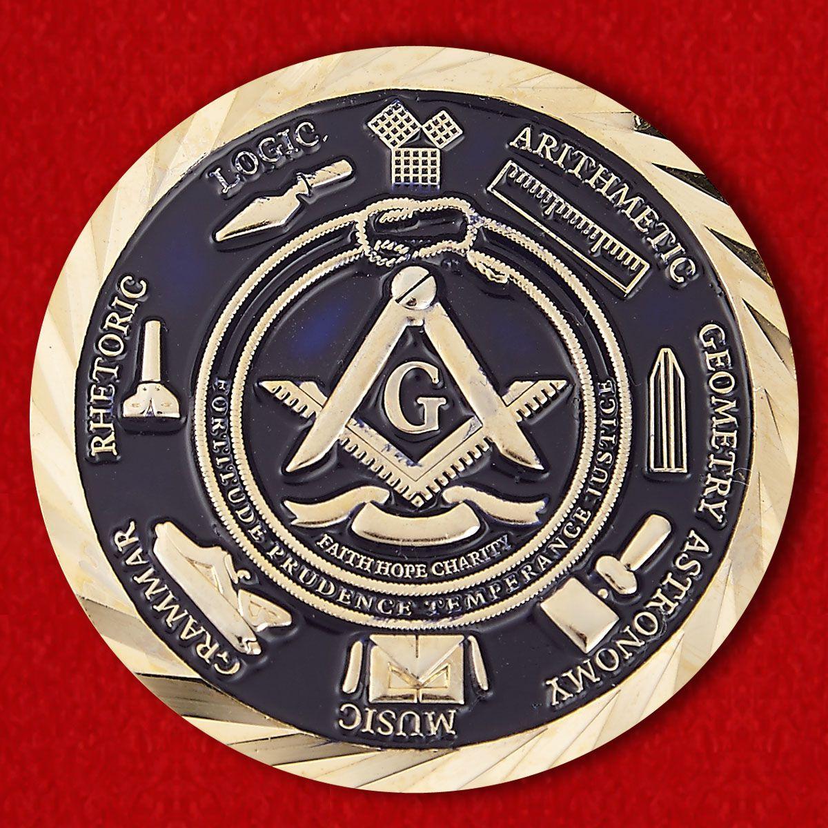 #111 Mabunay Lodge # 59 Past Master Ali Dennard Tomodachi Lodge Challenge Coin