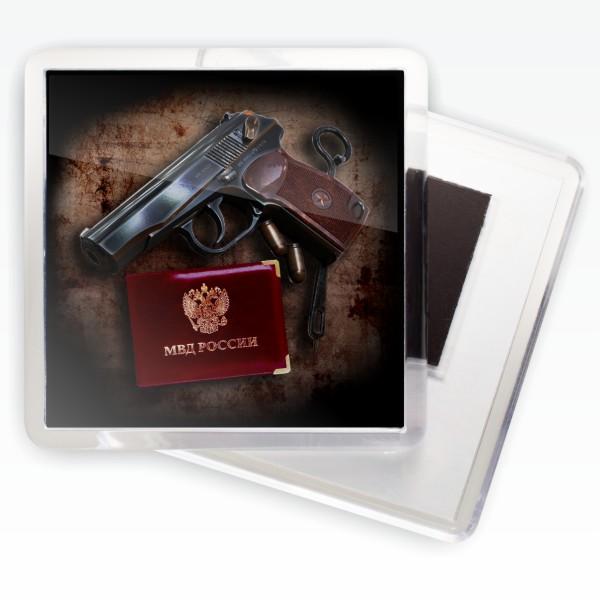 Магнитик «МВД России»