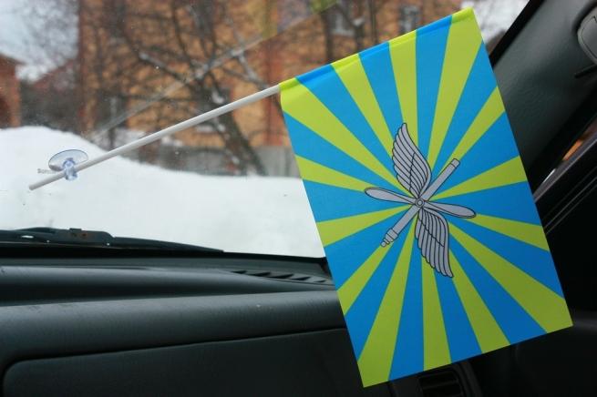 Флажок в машину с присоской ВВС РФ