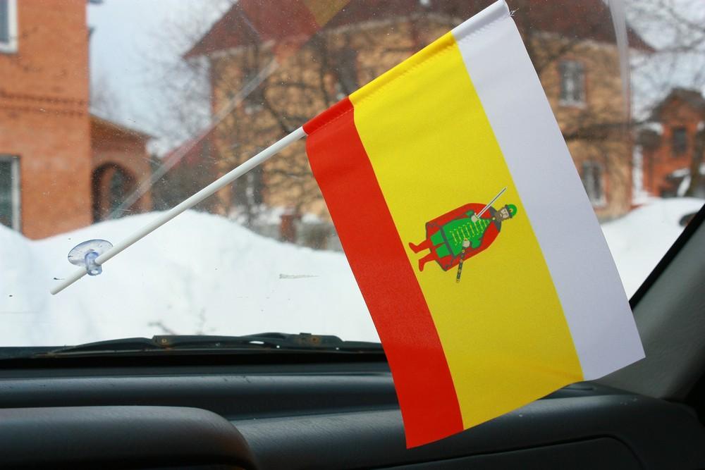 Флажок в машину с присоской Рязанская область