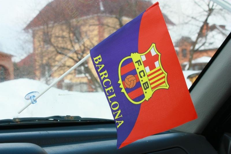 Флаг «FC Barcelona» (Барселона)