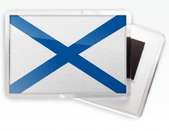 Магнитик «Андреевский флаг»
