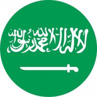 Наклейка «Флаг Саудовской Аравии»