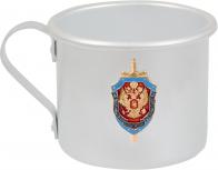 """Алюминиевая кружка """"ФСБ"""" - купить в подарок"""