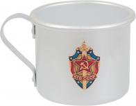 """Алюминиевая кружка """"КГБ СССР"""""""