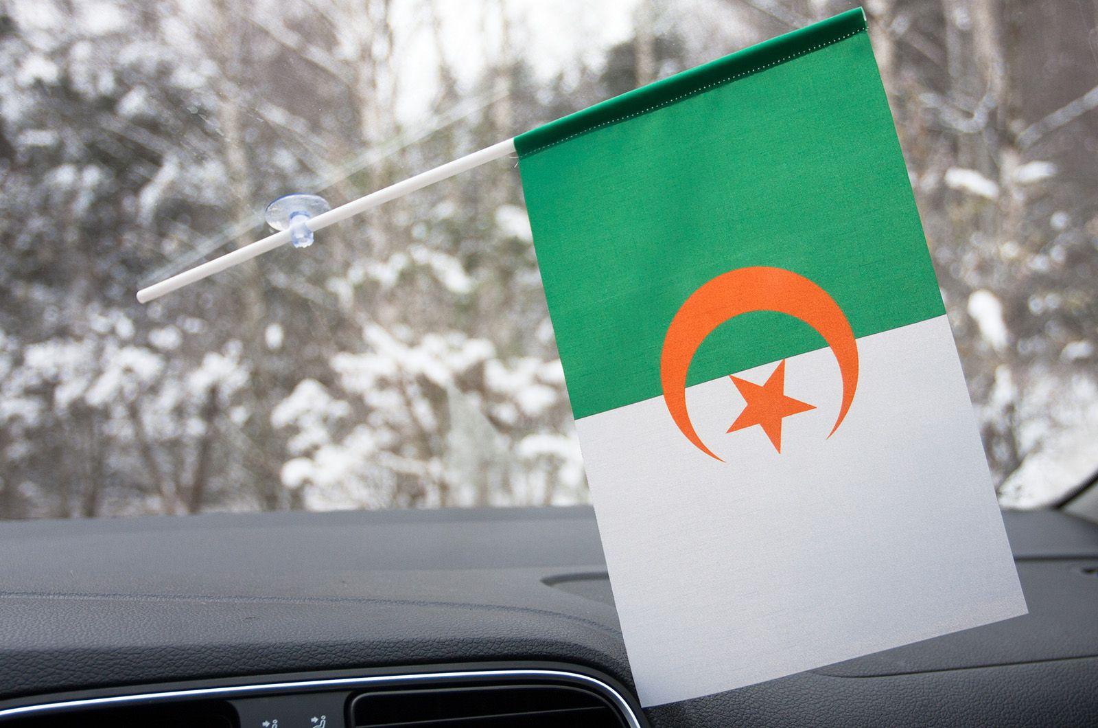 Алжирский флажок на присоске