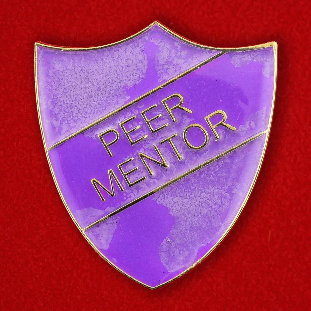 """Американскай значок наставника молодежи """"Peer Mentor"""""""