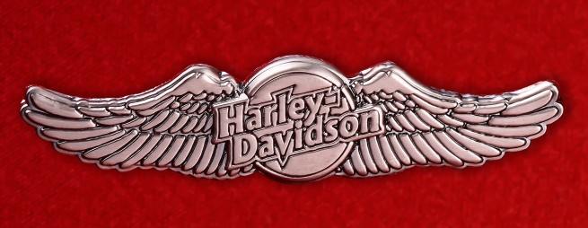 "Американский значок ""Харлей - Дэвидсон"""