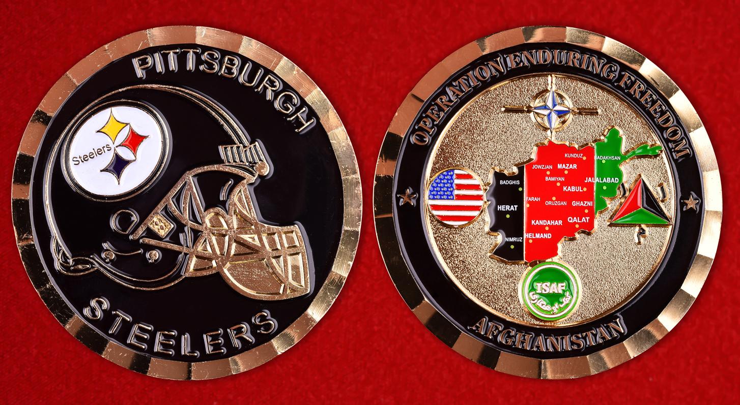 Американский значок клуба NFL Pittsburgh Steelers
