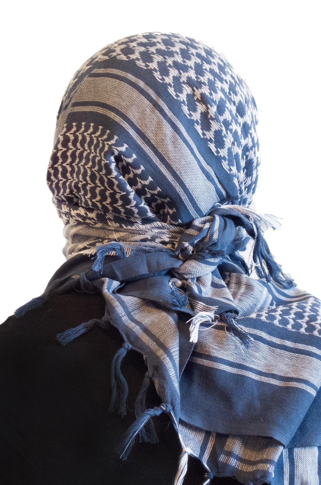 Арафатка-шемаг (синяя)