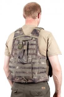 Разгрузочный жилет для военных CIRAS камуфляж A-TACS