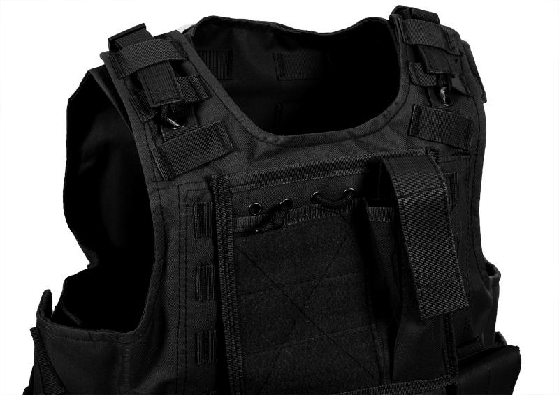 Армейский бронежилет FSBE черный