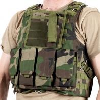 Армейский бронежилет FSBE камуфляж Woodland