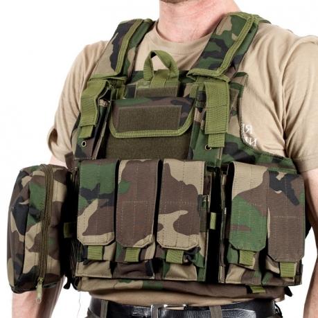 Армейский бронежилет CIRAS французский камуфляж