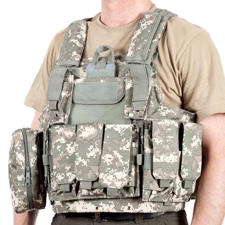 Армейский бронежилет СIRAS камуфляж ACU