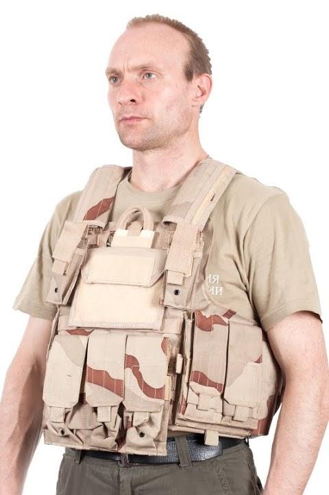 Армейский бронежилет CIRAS камуфляж Пустыня