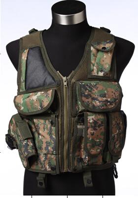 Армейский разгрузочный жилет камуфляж Марпат
