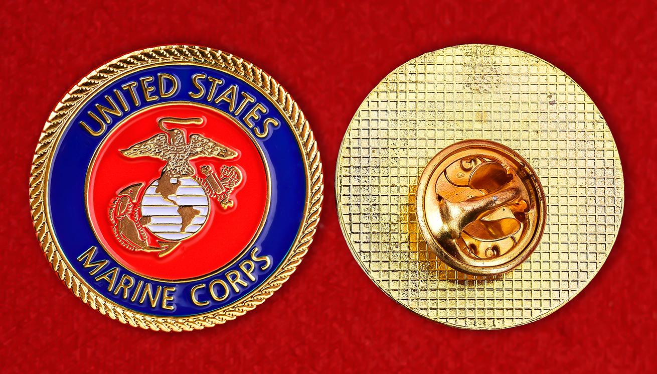 "Армейский значок США ""Корпус Морской пехоты"""