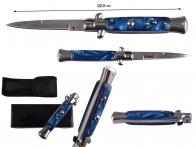 """Автоматический нож AKC Italy 9"""" Blue - купить с доставкой в любой город"""