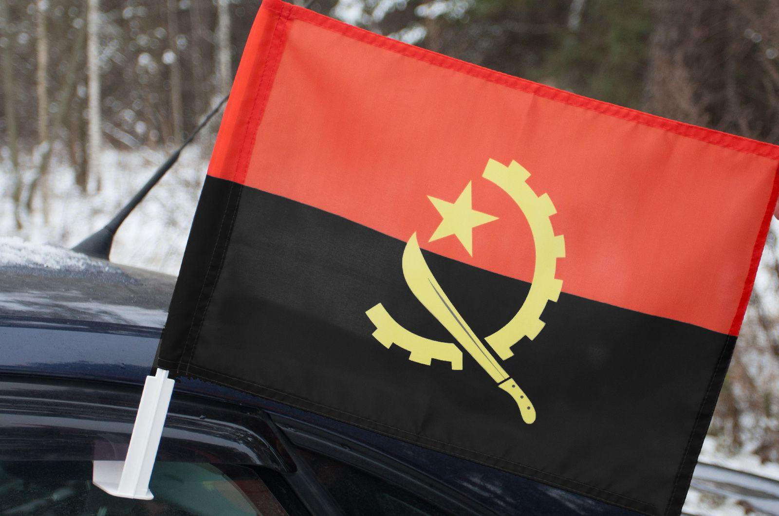 Автомобильный флаг Анголы