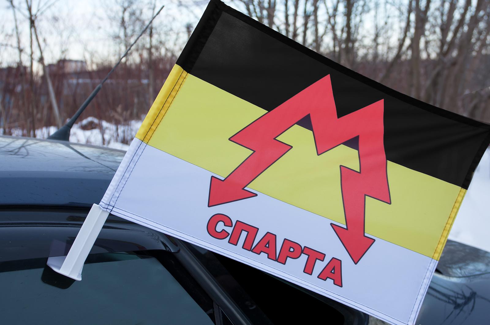 """Автомобильный флаг Моторолы """"Спарта"""""""