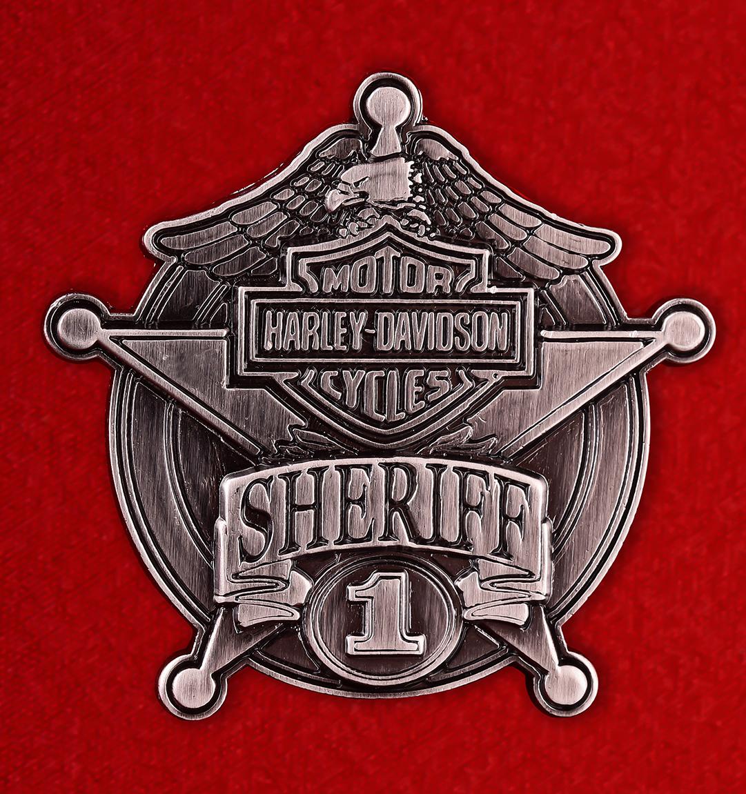 """Шерифский значок """"Харлей"""""""