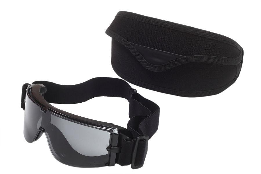 Баллистические очки чёрные