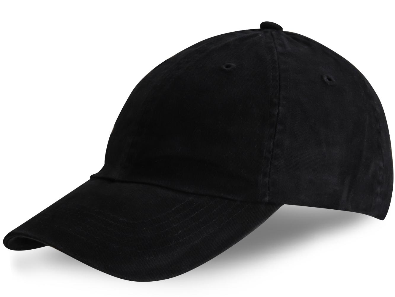 Бейсболка черная - купить в интернет-магазине