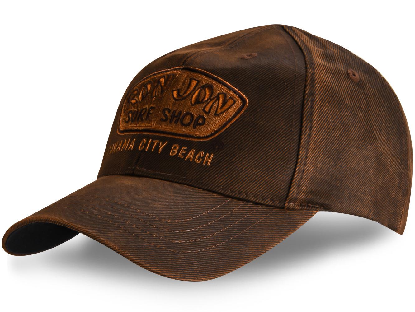 Бейсболка коричневая - купить в интернет-магазине с доставкой