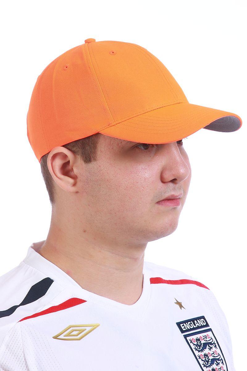 Бейсболка оранжевая - купить с доставкой