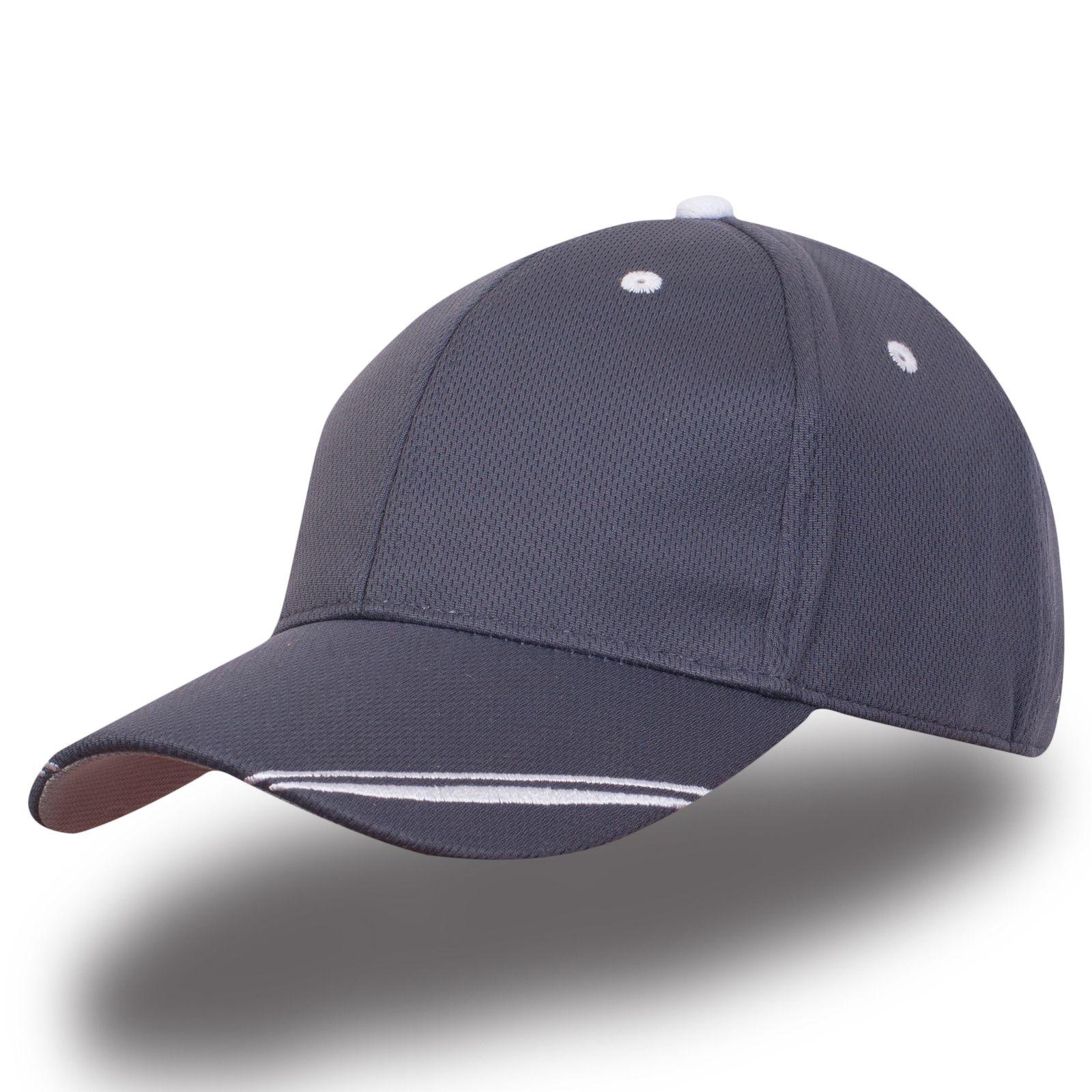 Бейсболка серая - заказать в интернет-магазине