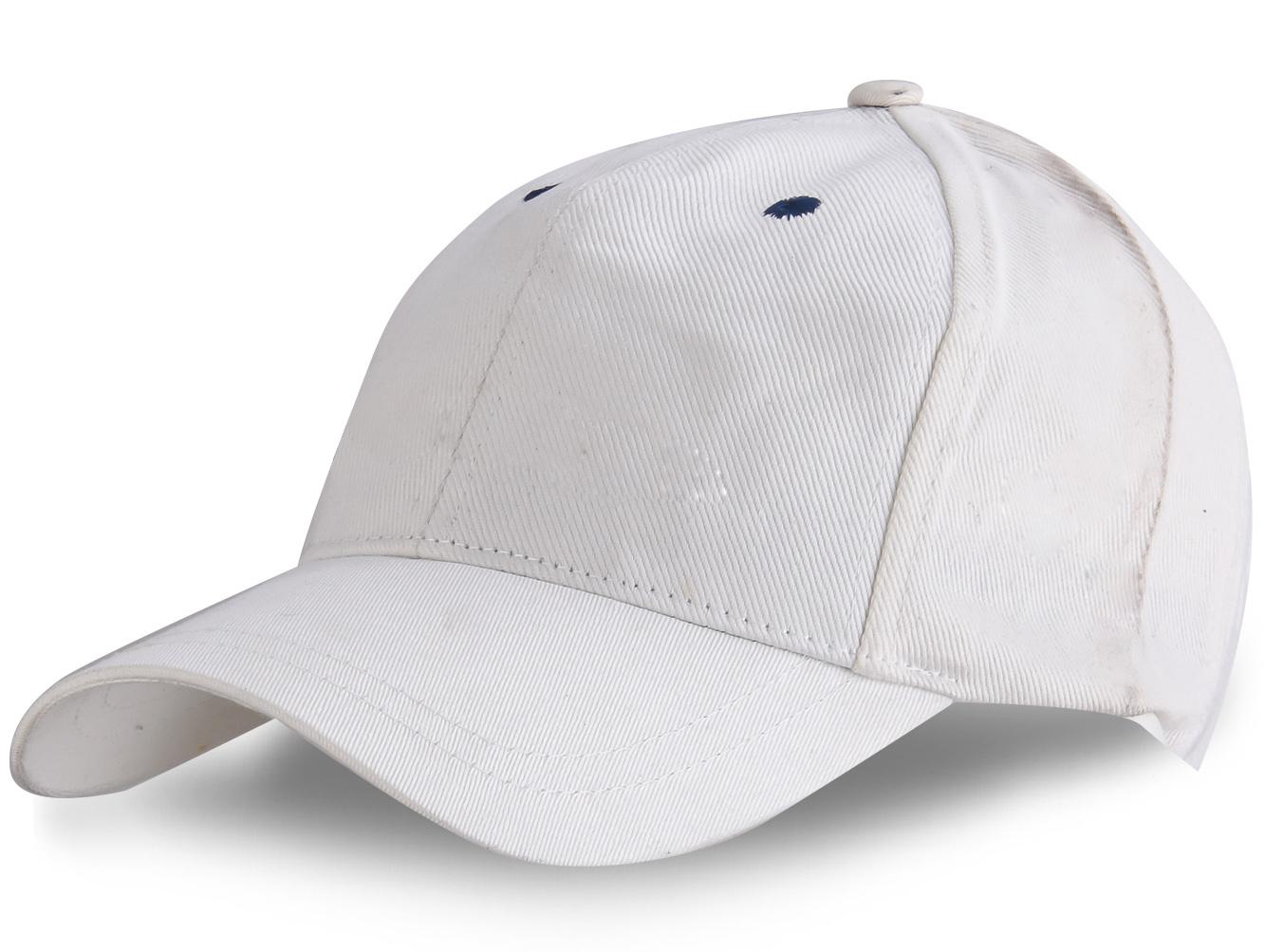 Белая бейсболка - купить с доставкой