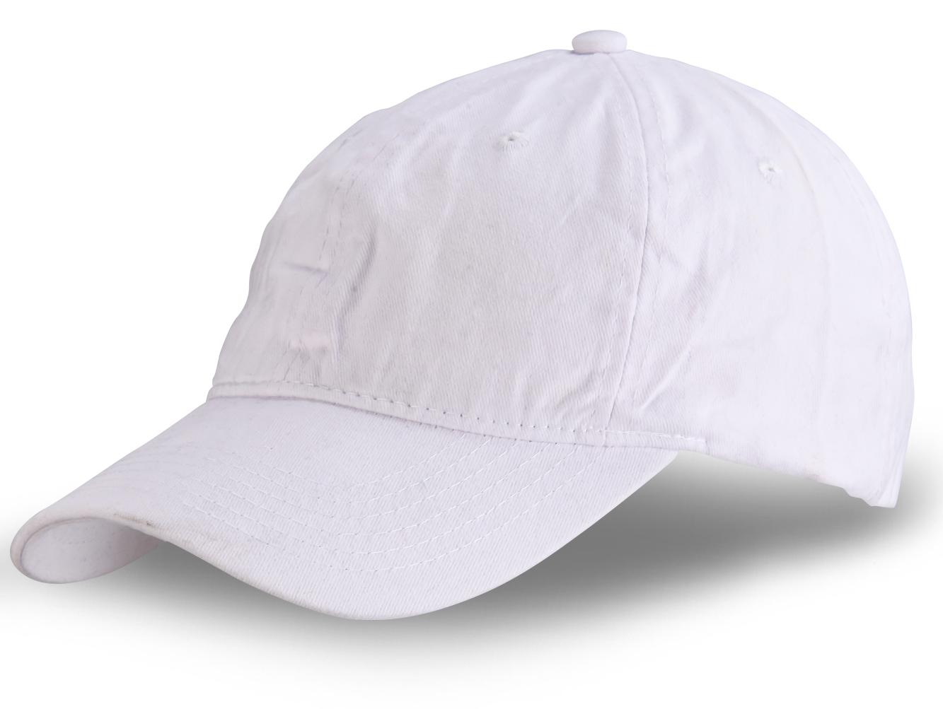 Белая бейсболка - заказать с доставкой в интернет-магазине