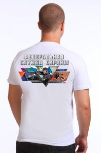 Белая футболка ФСО - купить с доставкой