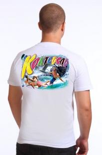 """Купить белую футболку """"Коктебель"""""""