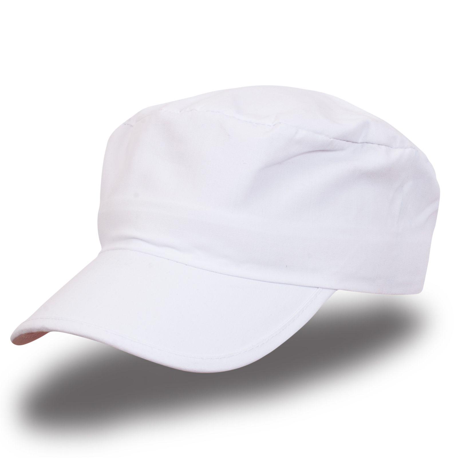 Белая кепка-немка - купить в интернет-магазине