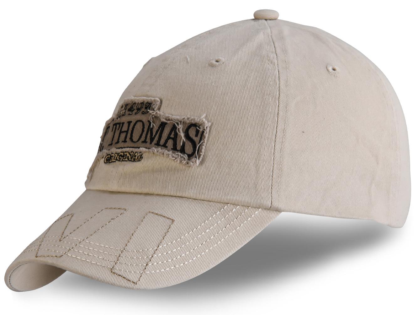 Белая кепка с нашивкой - купить в интернет-магазине с доставкой