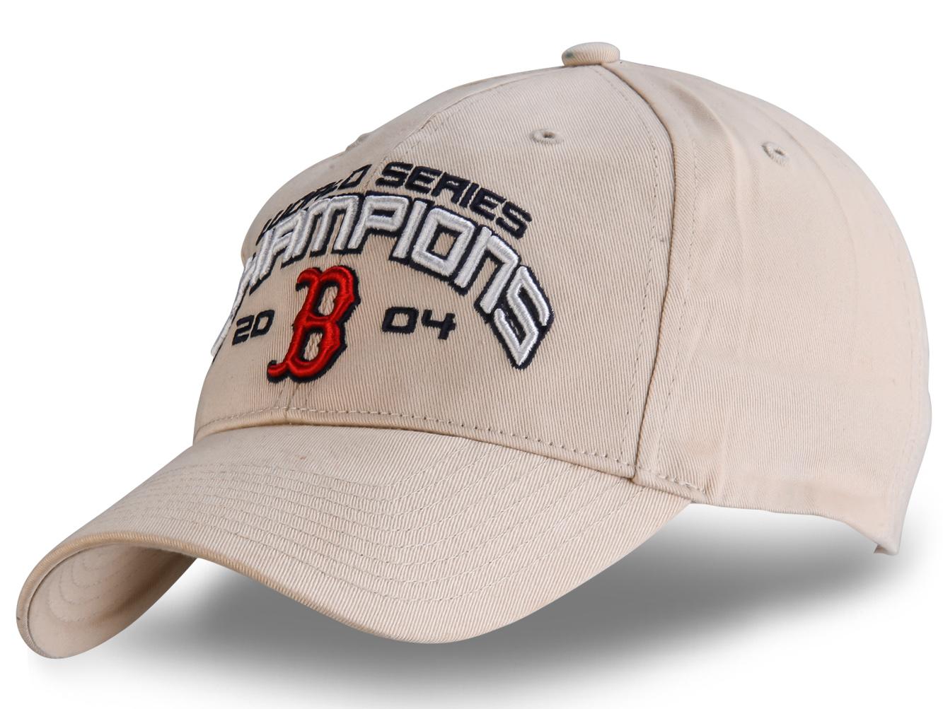 Белая спортивная бейсболка - купить в интернет-магазине