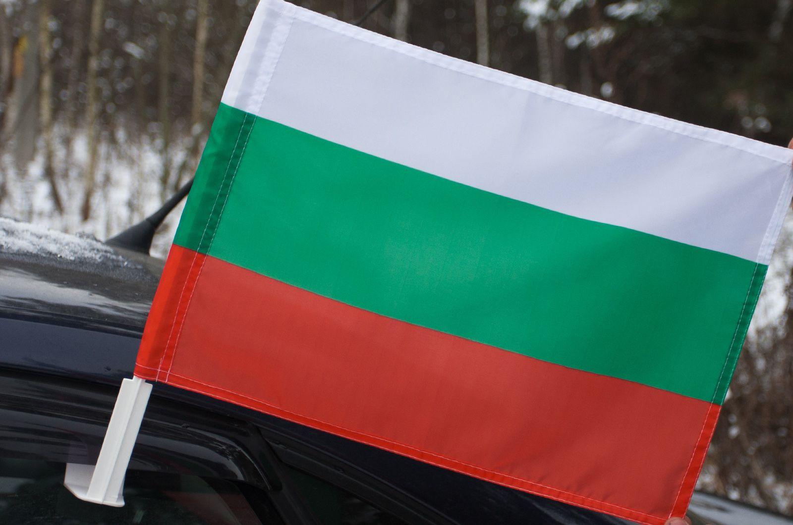 Болгарский флаг на машину