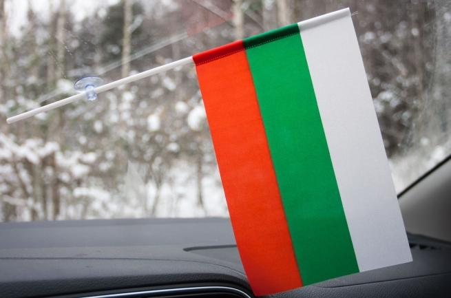 Болгарский флажок с присоской