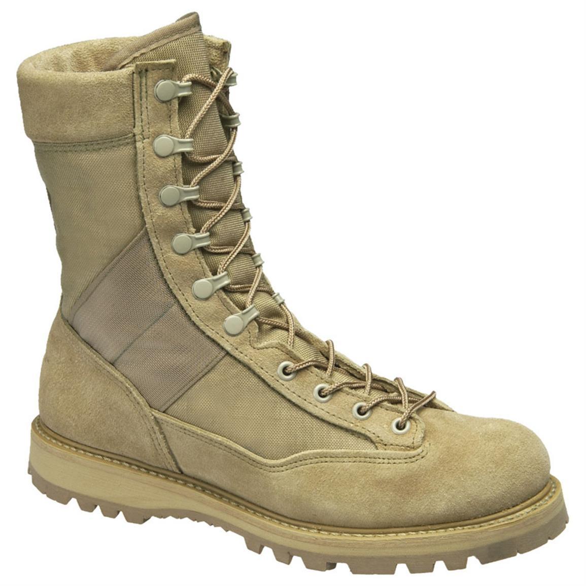 "Ботинки Corcoran 4390 9"" Desert Combat TAN"