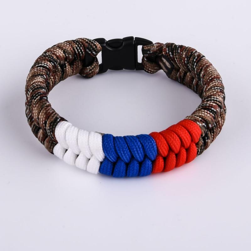 Заказать браслеты из нейлонового шнура с доставкой по стране