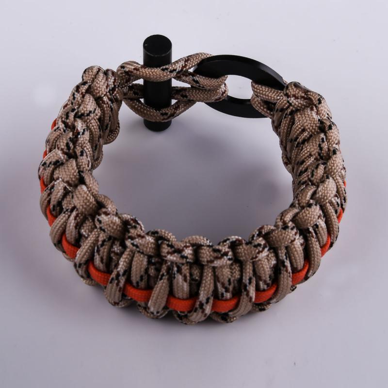 Купить браслет из паракорда плетение кобра выгоднее в военторге Военпро