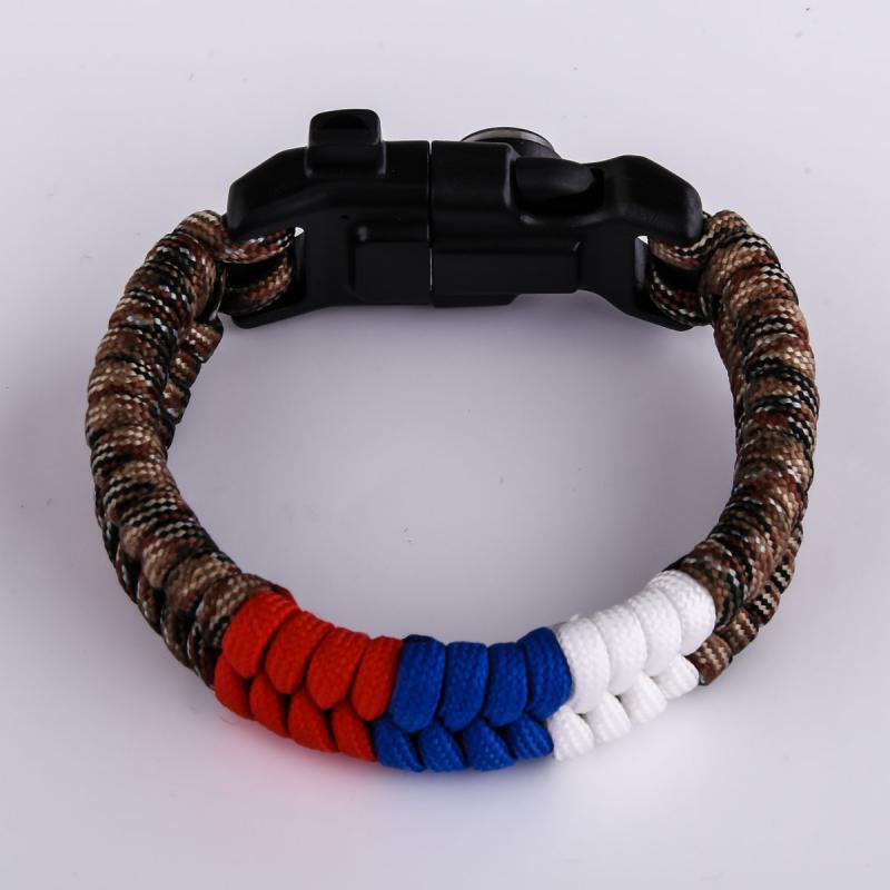 Купить браслеты из паракорда с огнивом по выгодной цене в Военпро