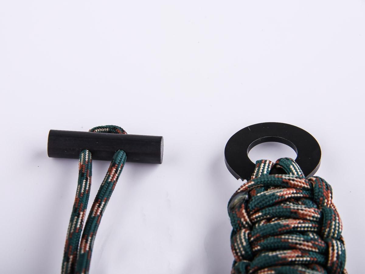 Браслет плетение кобра со скребком