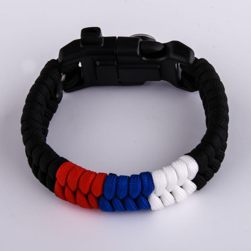 Купить браслеты с огнивом и свистком оптом и в розницу
