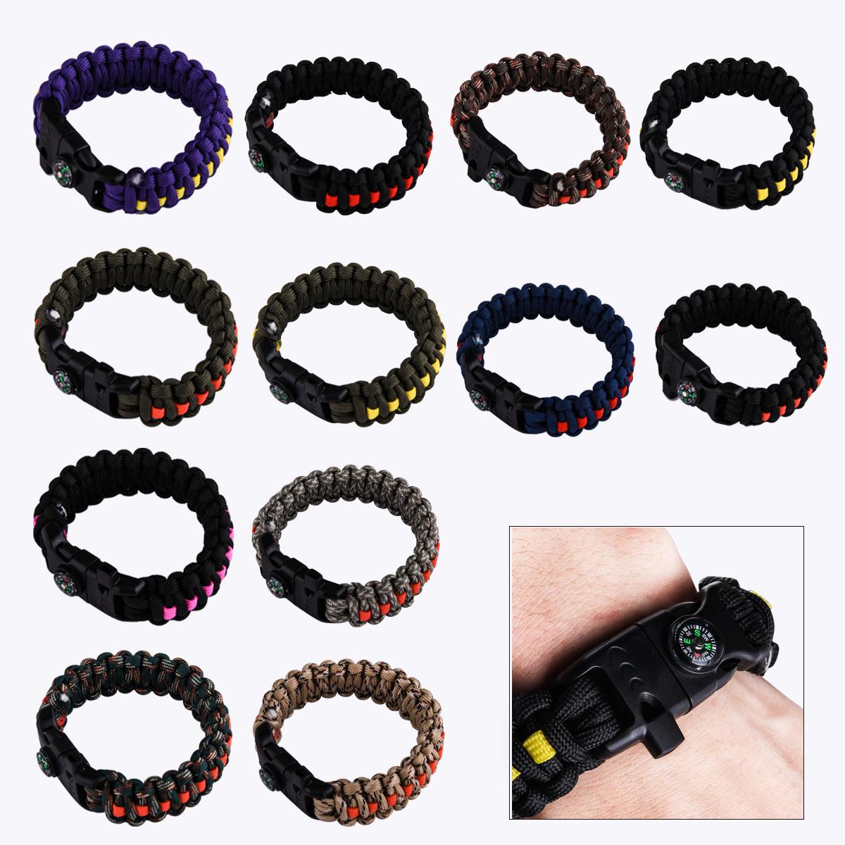 Купить многофункциональные браслеты из паракорда