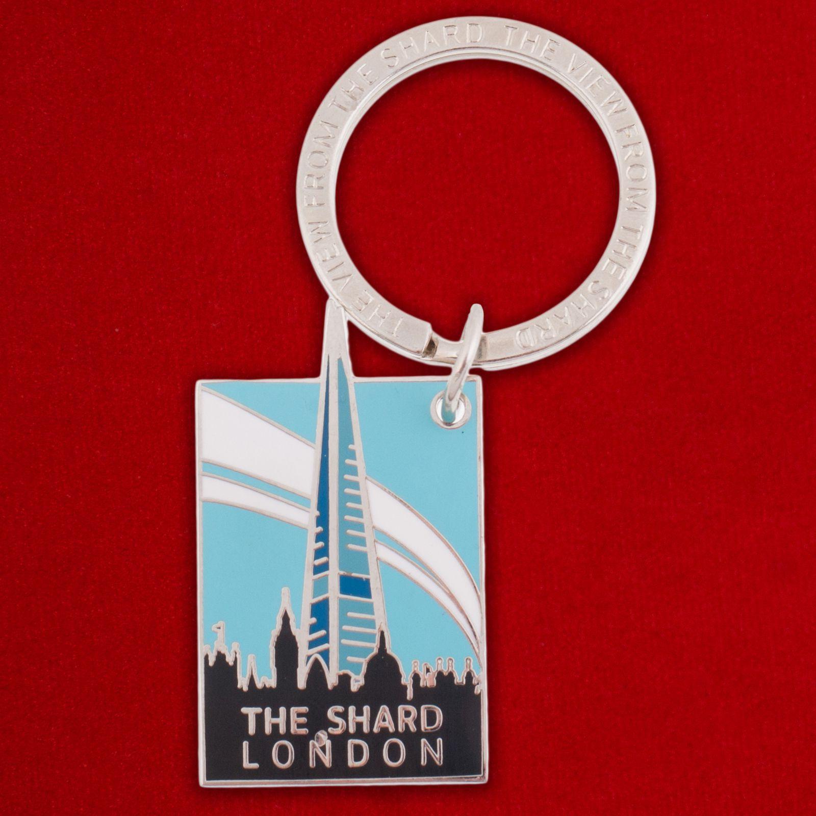 "Брелок ""Лондонский небоскреб The Shard"""