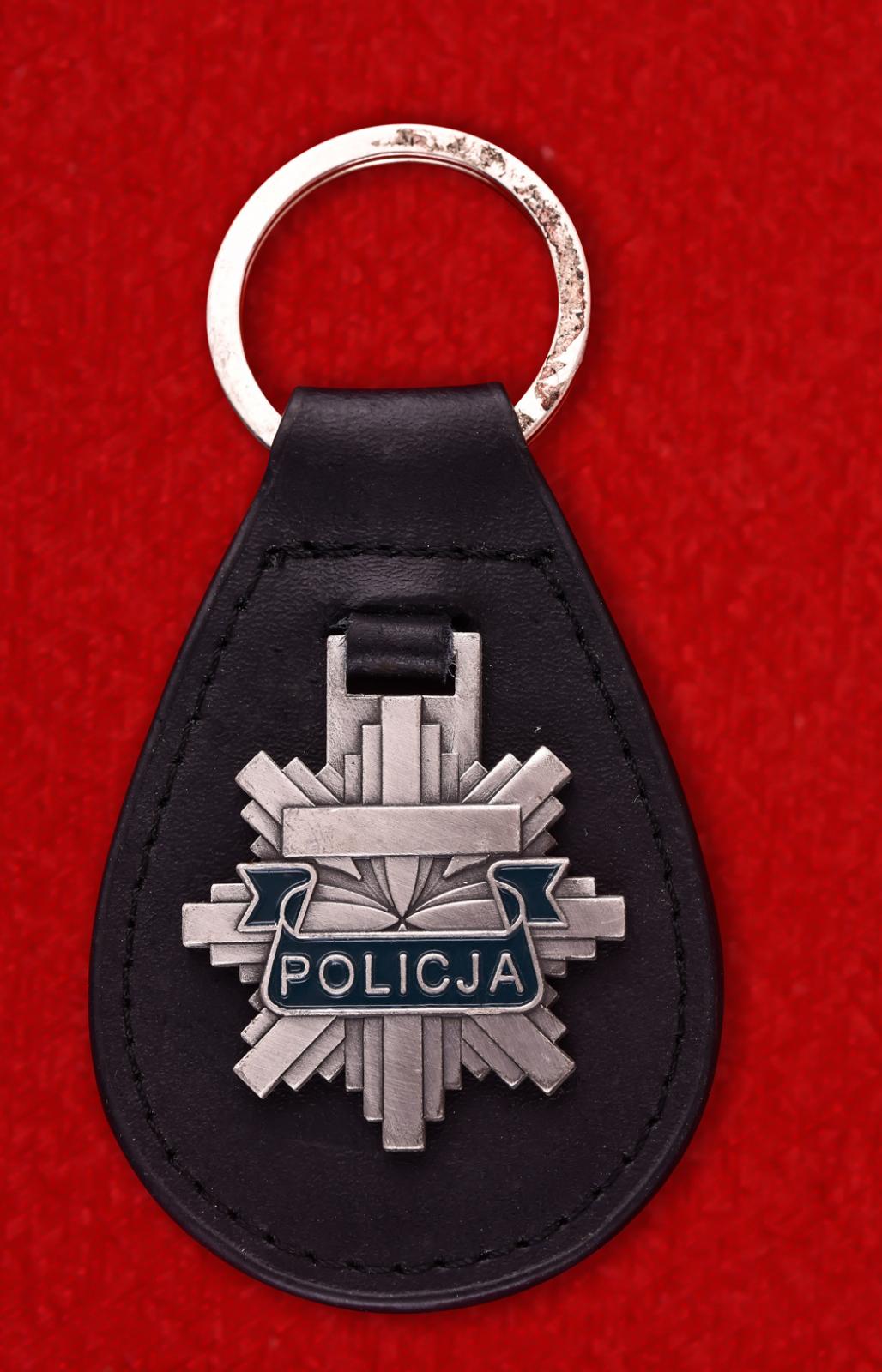 """Брелок """"Полиция Польши"""""""