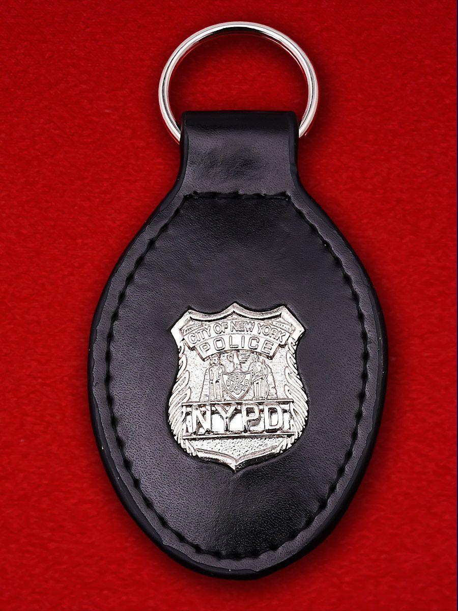 Брелок с жетоном Полиции Нью-Йорка